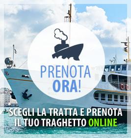 Prenota il tuo traghetto su Mare in Italia