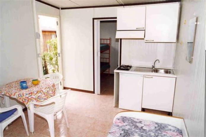 Camping Il Gabbiano- Interno casa mobile