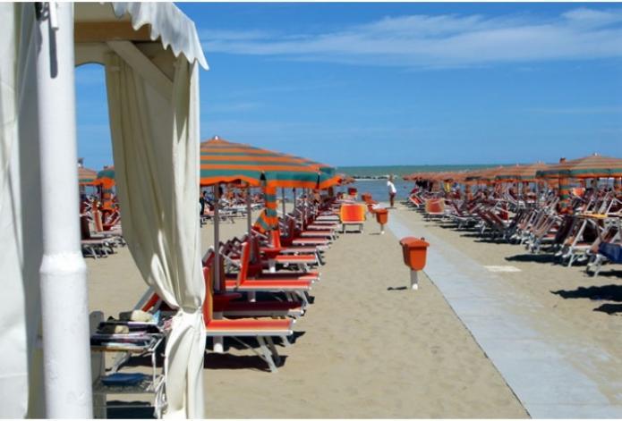 Spiaggia Residence Eden di Gabicce Mare