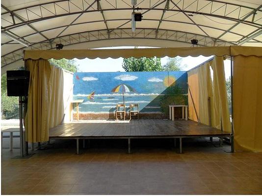 Camping Sabbia d'oro - Area spettacoli