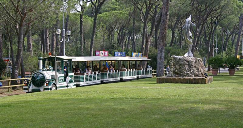 Marina di Grosseto - Cieloverde Camping Village - Trenino
