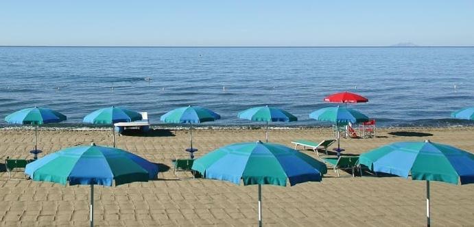 Camping Maremma Sans Souci- Spiaggia