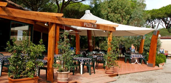 Camping Maremma Sans Souci- Pizzeria
