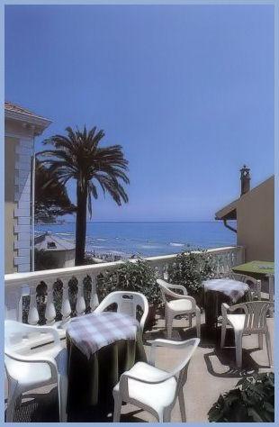 Alassio - Hotel Gandolfo - Terrazzo vista mare