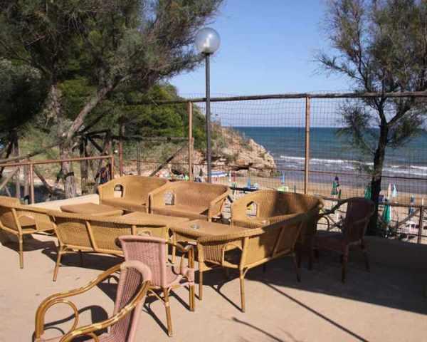Vico del Gargano - Baia Calenella - Dehors spiaggia