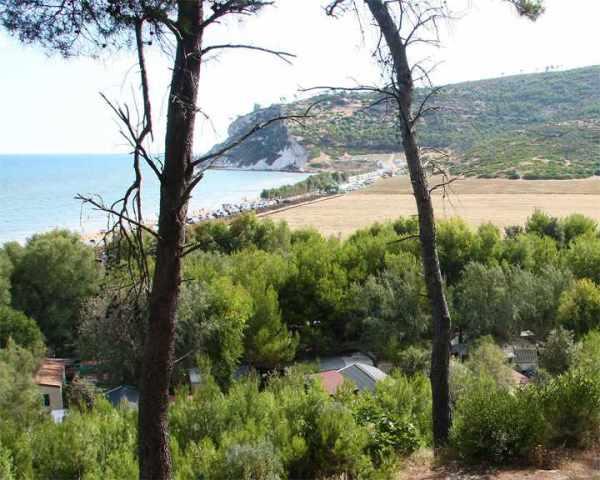 Vico del Gargano - Baia Calenella - Vista spiaggia