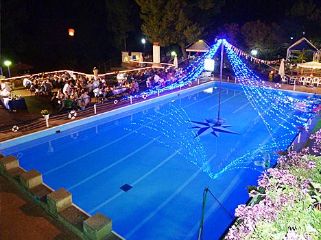 Marina di Camerota - Villaggio Villamarina - Festa in piscina