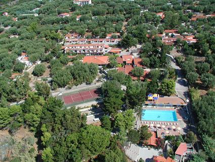 Marina di Camerota - Villaggio Villamarina - foto dall'alto