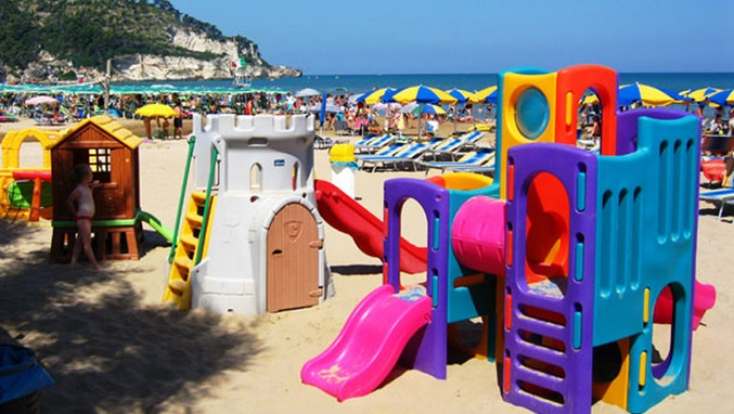 Villaggio Bellariva Peschici - Area Giochi Spiaggia