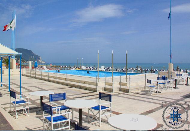Solarium Hotel Marcelli Numana