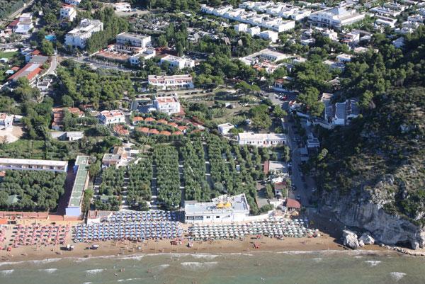 Peschici -Villaggio Ialillo - Vista dall'alto