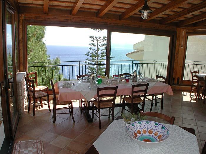 San Vito lo Capo - Villa Sauci B&B - Terrazzo vista mare