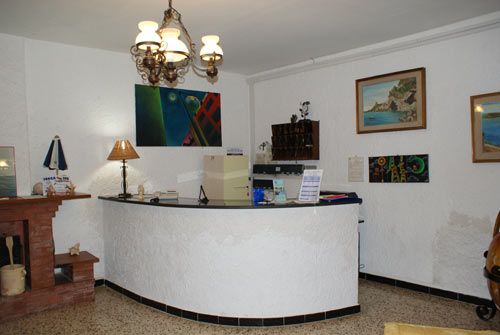 Marina di Camerota - Villaggio Residence Chalet degli Ulivi - Reception