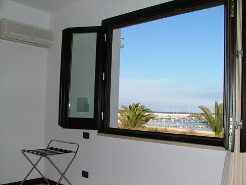 San Vito lo Capo - Villa Faro - Camera vista mare