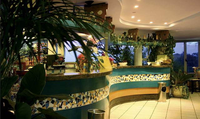 Hotel Villaggio Stromboli - Sala ristorante