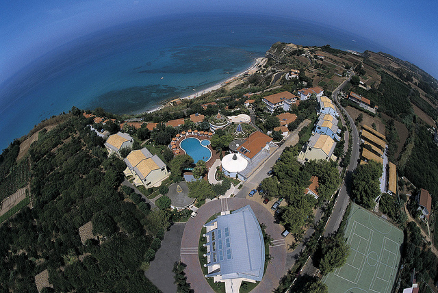 Hotel Villaggio Stromboli - Vista dall'alto