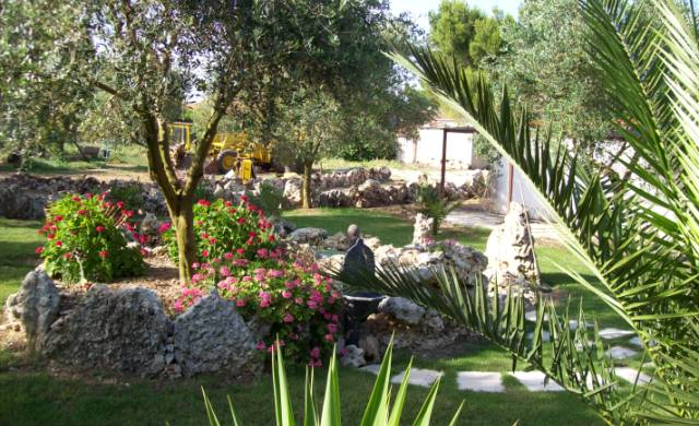 Agriturismo Campeggio La Moro - Giardino