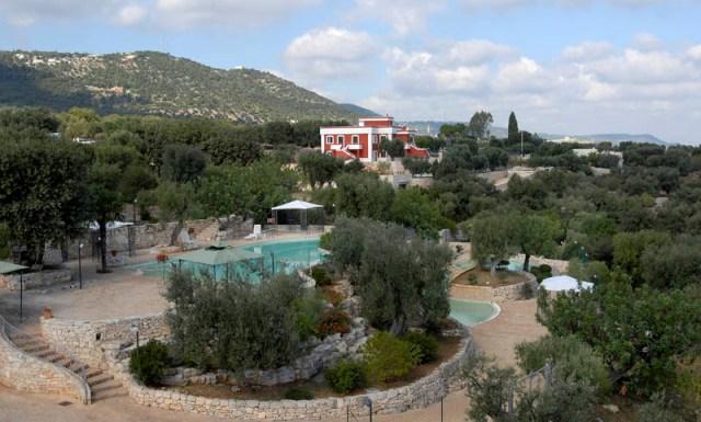 Fasano -Park Hotel Sant'Elia - Vista dall'alto