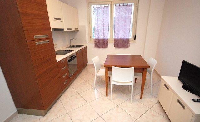 Vista della Cucina Residence Riccione