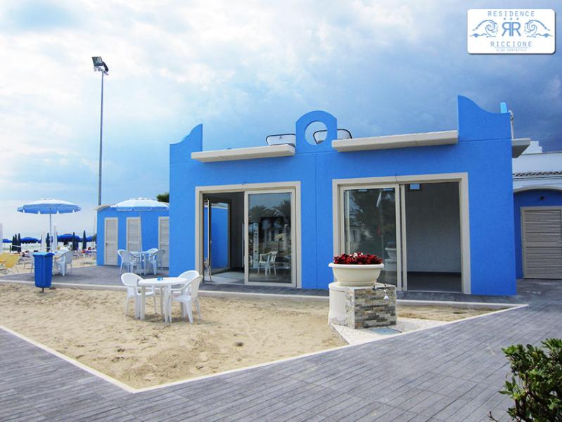 Lido del Residence  Riccione di Alba Adriatica