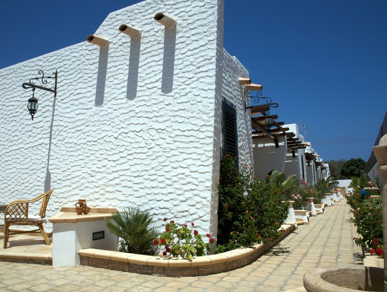 Lampedusa - Agriturismo Resort Costa House - Esterno Camere