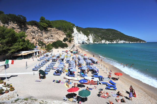 Residence Camping Vignanotica - Spiaggia