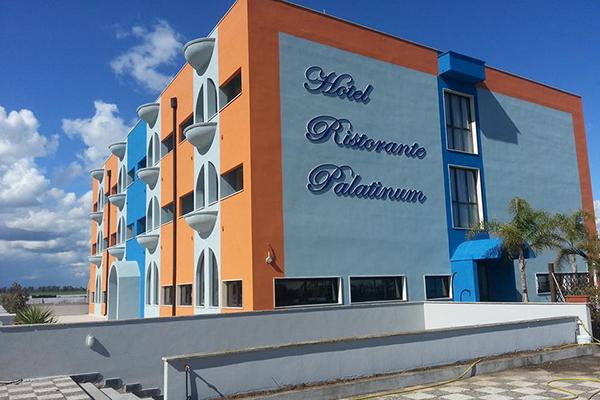 Vista esterna Hotel Palatinum