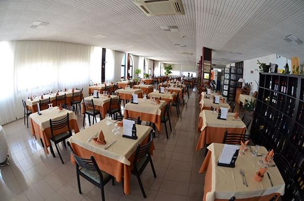 Sala ristorante Hotel Palatinum