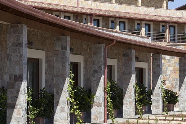 Eco Resort Dei Siriti, vista frontale