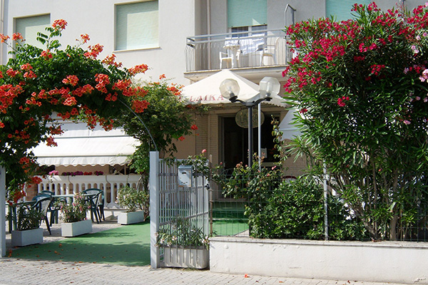 Rimini- Hotel Laika - Ingresso