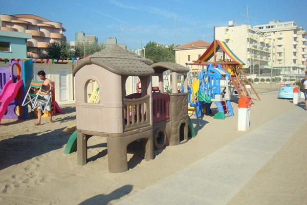 Rimini- Hotel Laika - Spiaggia