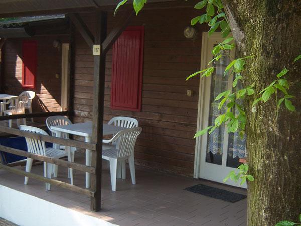 Comacchio - Villaggio Samoa - Veranda Bungalow
