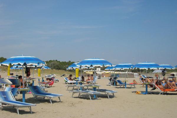 Ravenna - Piomboni Camping Village - Spiaggia