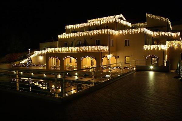 Finale Ligure - Villaggio di Giuele - Vista di sera