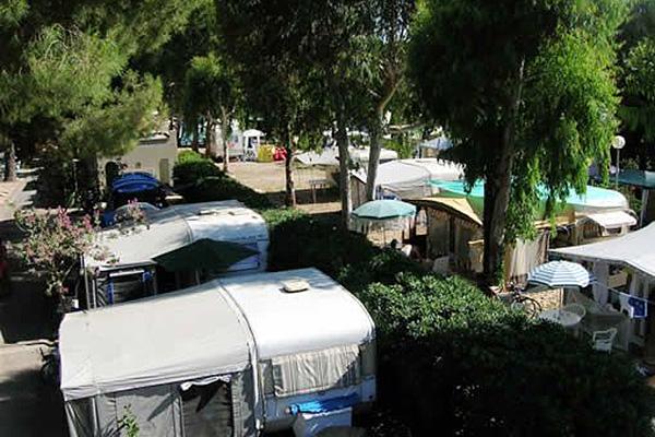 Finale Ligure - Eurocamping Calvisio - Vista dall'alto