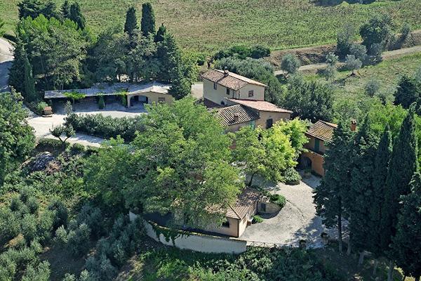 Agriturismo La Prugnola - Vista dall'alto