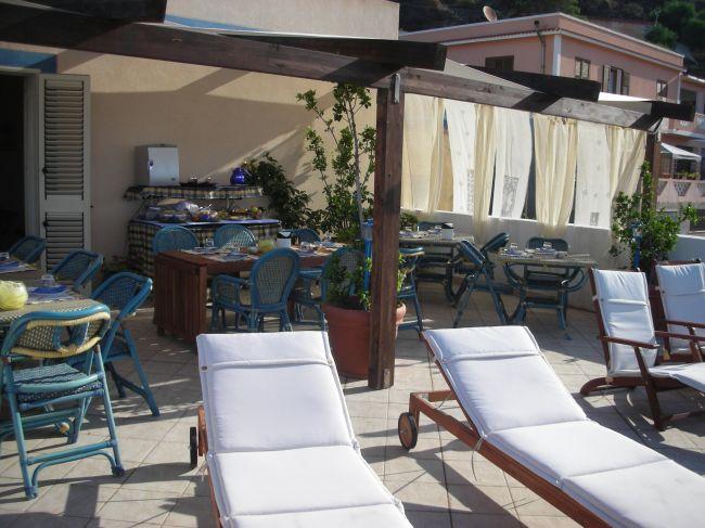 Linosa - Residence La Posta - Solarium