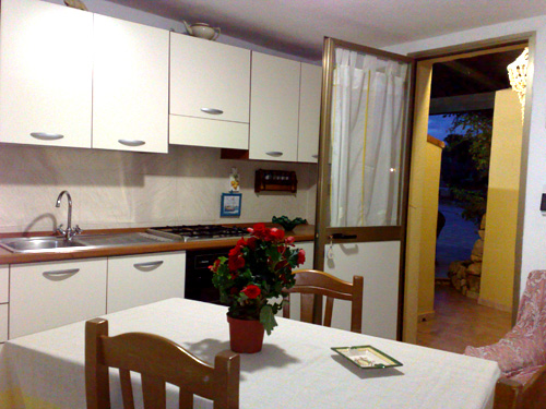 Lampedusa - Case Pescatori- Cucina