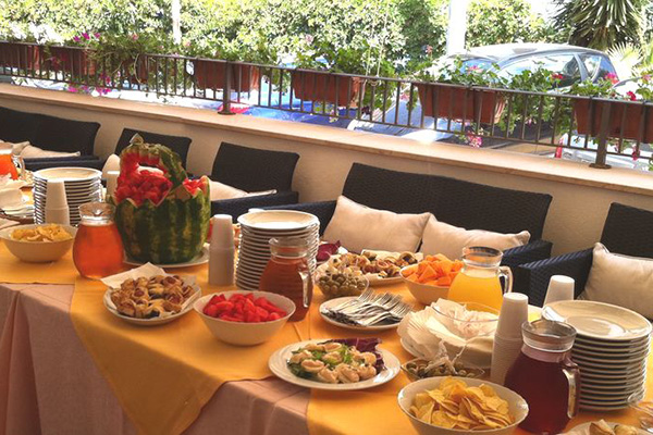 Hotel Pineta-Gargano - Sala Colazione