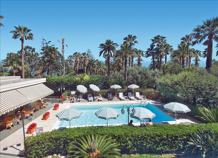 Sanremo - Hotel Paradiso - Piscina