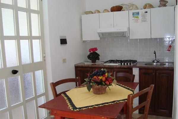 Lampedusa - Residence Ficodindia -Cucina