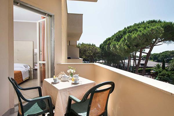 Marina di Bibbona - Park Hotel Marinetta - Camera vista mare