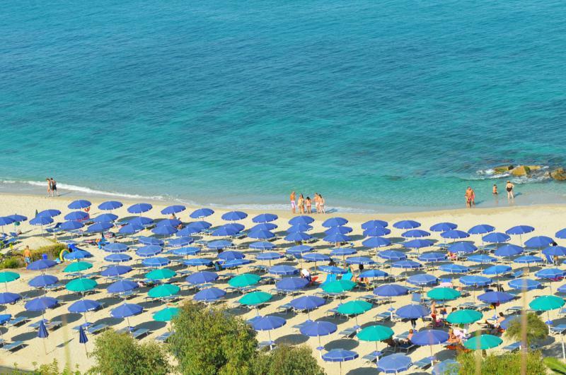 Ricadi - Hotel Villaggio Roller Club -La spiaggia