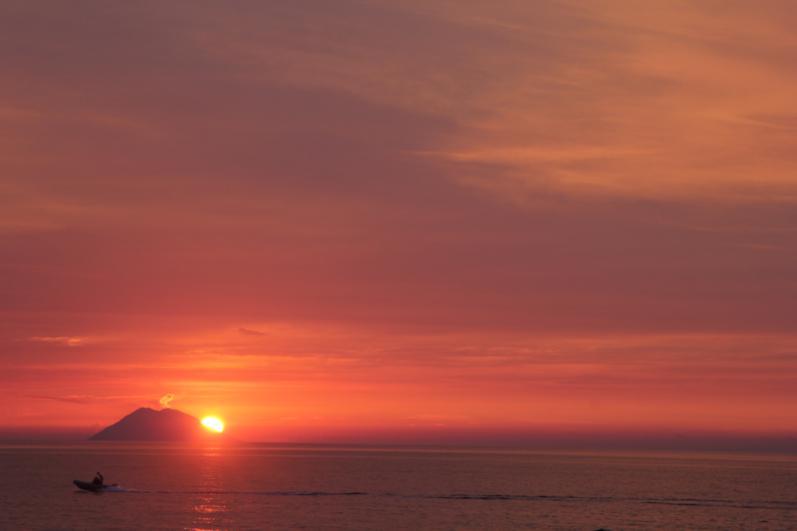 Gli splendidi tramonti