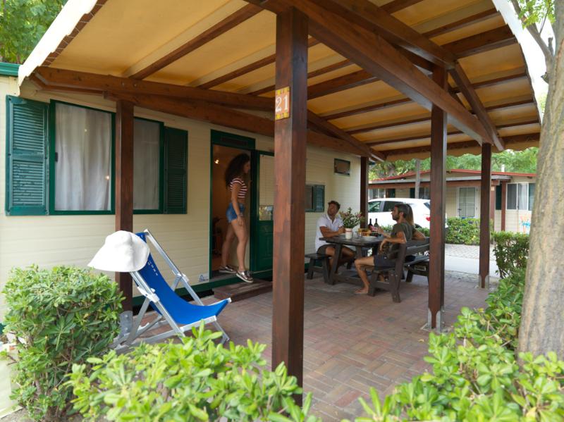 Chalet Villaggio Camping Verde Luna nelle Marche