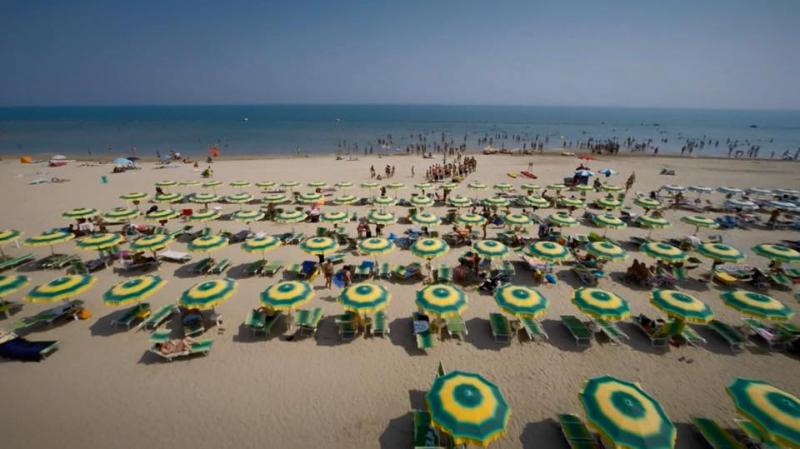 Spiaggia Villaggio Camping Verde Luna di Marotta di Fano