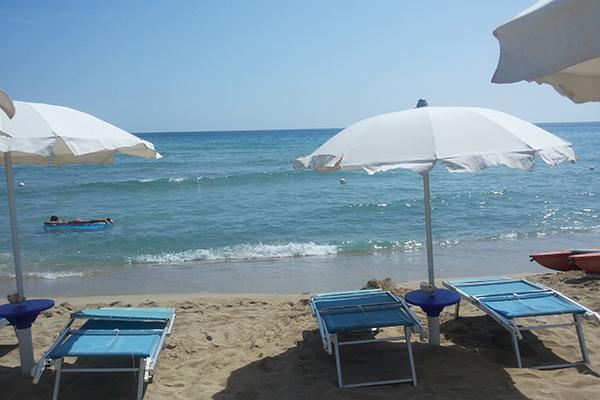 Esperia Palace Hotel - Spiaggia