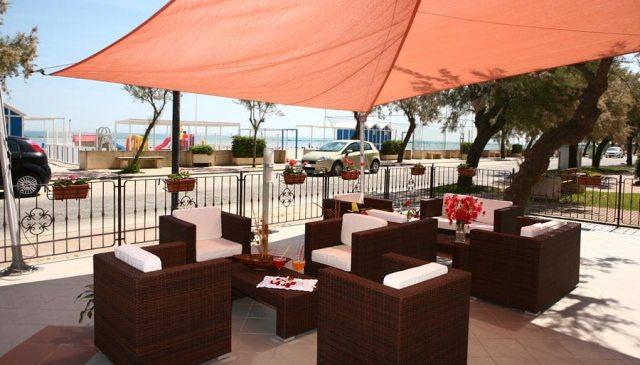 Spazi esterni Hotel Miramare Inn