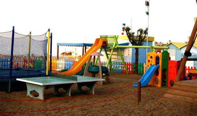 Misano Adriatico - Hotel Italy - Area giochi in spiaggia