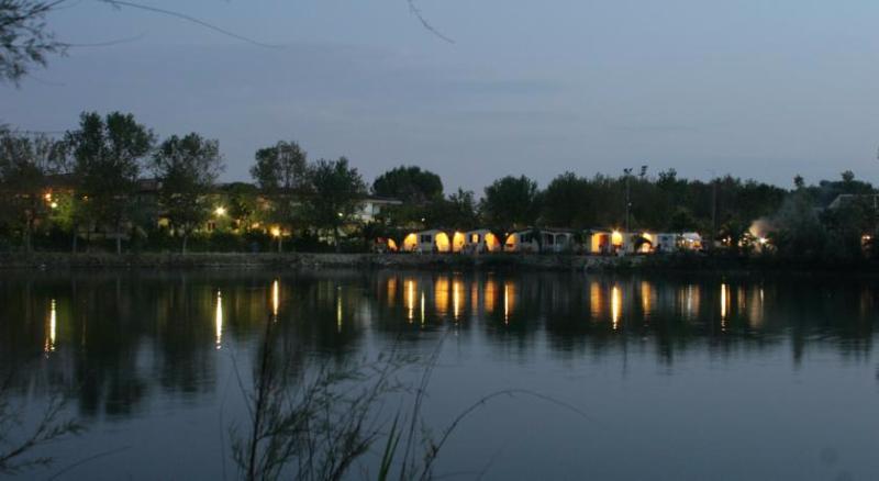 Vista serale del Campeggio Lake Placid